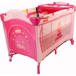 Łóżeczko ARTI MediumGo Pink